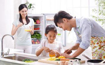 Lớp học nấu ăn gia đình