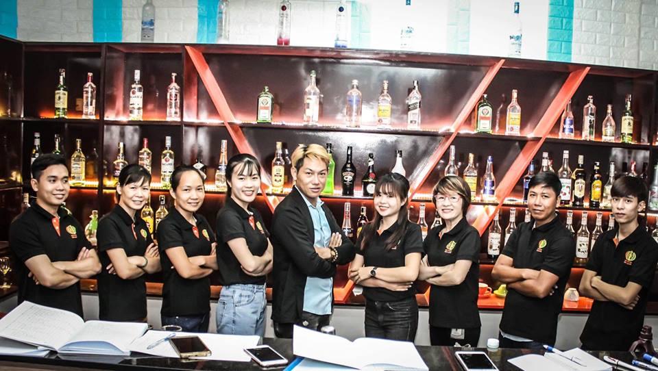 Học pha chế đồ uống, nghề bartender