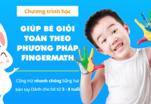 Học toán theo phương pháp FINGERMATH cho bé từ 3 - 8 tuổi