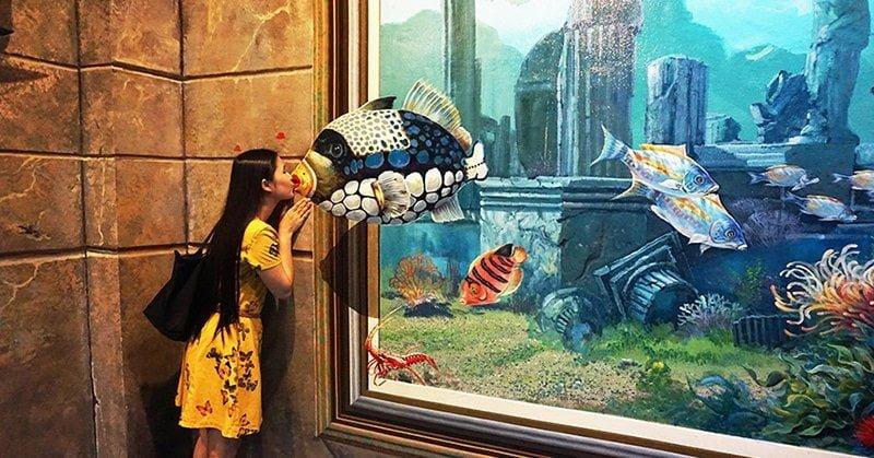 Art In Paradise Pattaya - Sự kỳ diệu của bảo tàng trang 3D