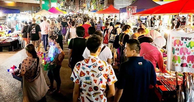 Chợ đêm Chiang Mai Night Bazaar