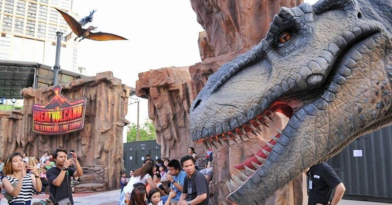 Dinosaur PlanEet Bangkok - Hành tinh khủng long