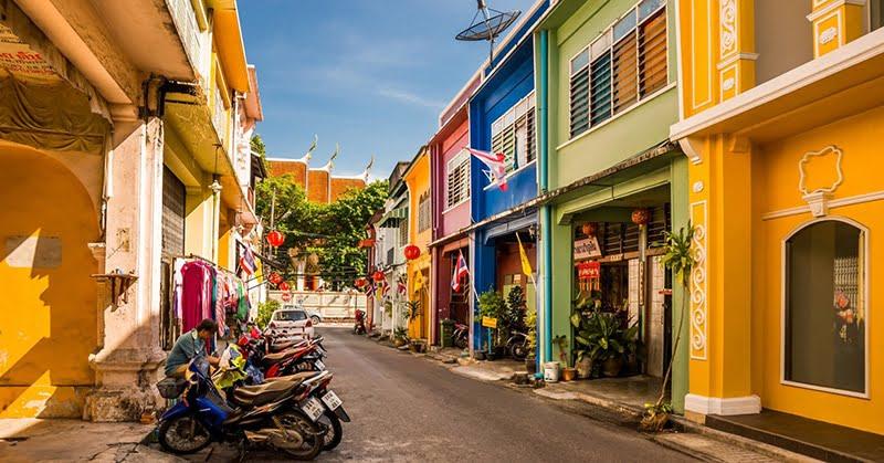 Khu phố cổ – Thị trấn Phuket