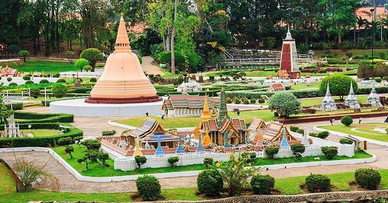 Công viên Mini Siam - Kỳ quan thế giới thu nhỏ tại Thái Lan