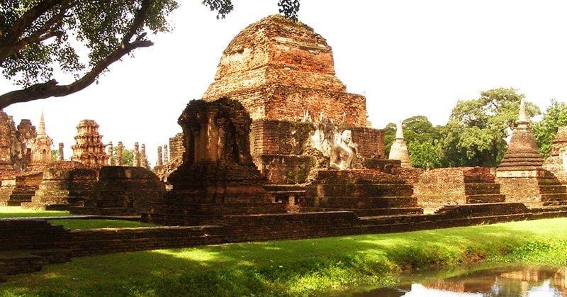 Công viên lịch sử SukhoThai (Old Sukhothai)