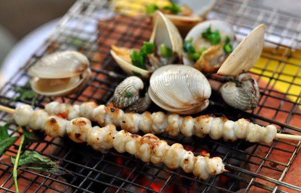 Đừng quên thưởng thức hải sản tươi ngon, giá cả hợp lý tại Kỳ Co