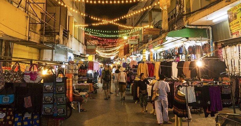 Chợ đêm Chiang Rai