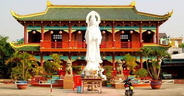 Thuyết minh tiếng Anh về chùa Sung Hùng