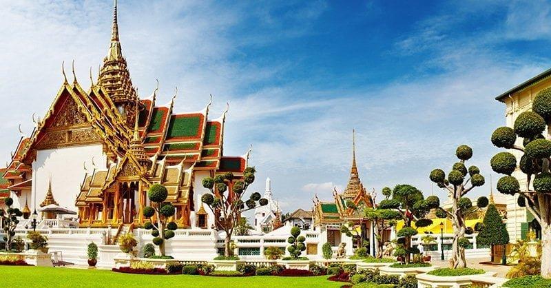 Cung điện hoàng gia Thái Lan Grand Palace