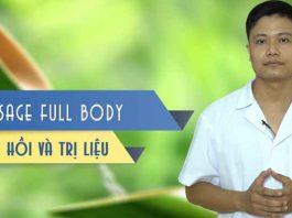 Khóa học Massage toàn thân - Phục hồi và Trị liệu