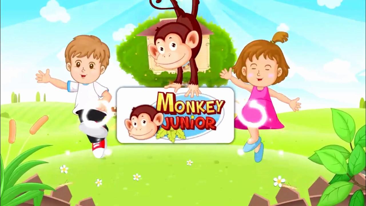 Thẻ học tiếng anh monkey junior cho trẻ từ 0 đến 10 tuổi