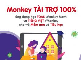 Học toán và tiếng việt miễn phí cùng Monkey