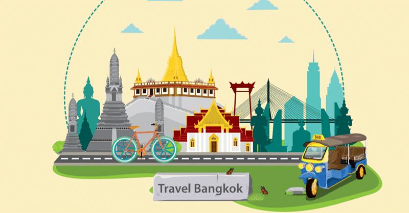 Cách di chuyển từ sân bay về trung tâm Bangkok