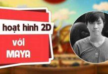 Khóa học làm phim hoạt hình 2D với Maya