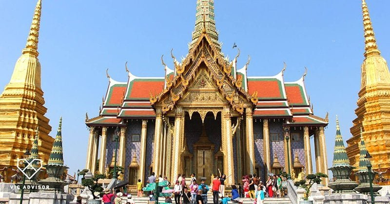 Wat Pho hay còn gọi là chùa Phật nằm