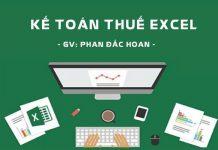 Khóa học Kế toán thuế Excel
