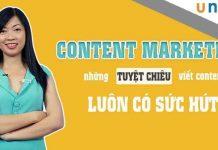 Học Content Marketing - Tuyệt chiêu viết content đỉnh cao