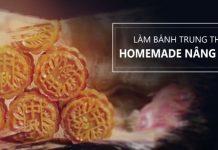 Khóa học làm bánh trung thu homemade NÂNG CAO