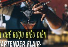 Khóa pha chế rượu biễu diễn-Bartender Flair