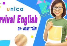 Khóa học Survival English