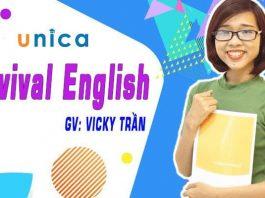 Khóa học Survival English