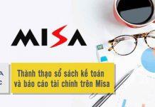 Khóa học sổ sách kế toán và báo cáo tài chính trên Misa