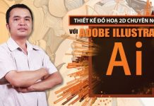 Học thiết kế đồ hoạ 2D chuyên nghiệp với Adobe Illustrator