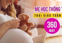 Mẹ học thông thái - Thai giáo toàn diện 360 ngàya